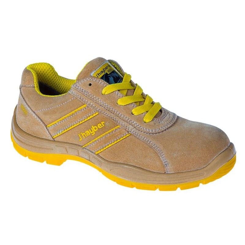 J hayber zapatillas de seguridad goal color camel for Zapatillas de seguridad